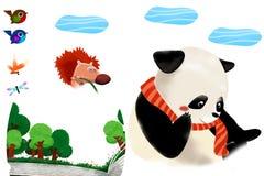 Clip Art Set: Forest Animals. Stock Photos