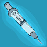 Clip art syringe Stock Photos