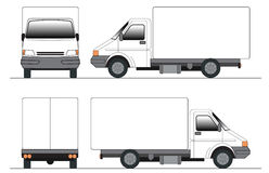 Clip-art truck royalty free illustration
