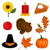 Clip-arte di giorno di ringraziamento Fotografia Stock