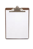 Clip board Stock Photo