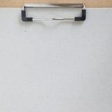 Clip board and colored paper Stock Photo