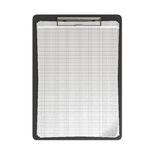 Clip board and papers 3d render on white. Clip board and papers 3d render Stock Photo
