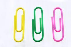 Clip colorati Fotografia Stock Libera da Diritti