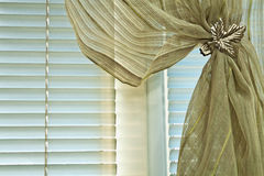 Clip curtain Royalty Free Stock Images