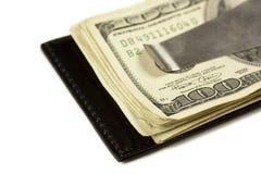 Clip d'argent Photos libres de droits