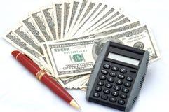 Clip d'argent Photos stock