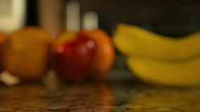 Clip de desplazamiento de frutas clasificadas metrajes