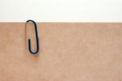 Clip de papel Imágenes de archivo libres de regalías