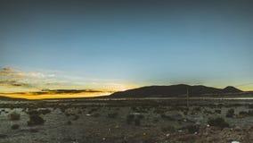 clip de película de cine de 4k Timelapse de la lata de la salida del sol el desierto de Atacama Chile Bolivia almacen de metraje de vídeo