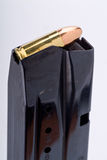 clip de pistolet de 9 millimètres Photo libre de droits