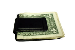 Clip del dinero Fotos de archivo