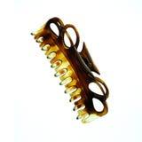Clip di capelli isolata Immagini Stock Libere da Diritti