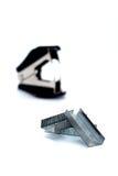 Clip e cucitrice meccanica Immagini Stock