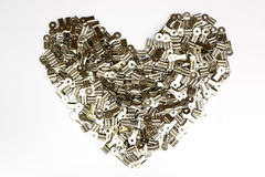 Clip Heart royalty free stock photos