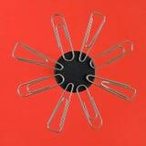 Clip magnetizzate Immagini Stock