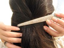 Free Clip On Hair Stock Image - 3305441