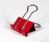 Clip rossa Fotografia Stock