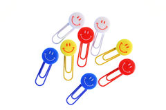 Clip smiles Royalty Free Stock Photography