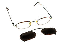 Clip On Sunglasses 1 Stock Photos
