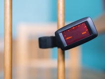 Clip tuner for Guitar Royalty Free Stock Images