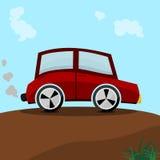 Clipart автомобиля Стоковое Изображение RF