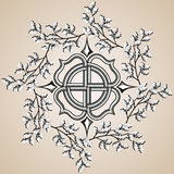Clipart Celtic cross. Royalty Free Stock Image
