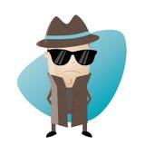 Clipart del agente secreto libre illustration