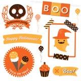Clipart di Halloween Fotografia Stock