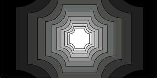 Clipart di illusione ottica illustrazione vettoriale