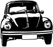 Clipart di vettore del fumetto dell'insetto di Volkswagon Fotografia Stock