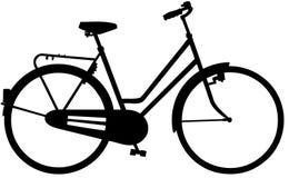 Clipart di vettore del fumetto della bici della bicicletta Immagine Stock Libera da Diritti
