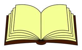 Clipart di vettore del libro aperto, simbolo, progettazione dell'icona Ruota dentata illustrazione di stock