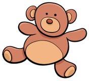Clipart do brinquedo dos desenhos animados do urso de peluche Imagens de Stock Royalty Free