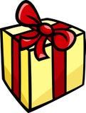 Clipart do Natal ou do presente de aniversário Fotos de Stock