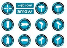 Clipart icon arrows Royalty Free Stock Photos