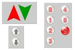 Clipart (images graphiques) d'ascenseur Photographie stock libre de droits