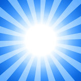Clipart słońce Obraz Royalty Free