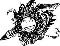 clipart symbol natury Obrazy Royalty Free