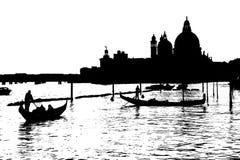 Clipart von Santa Maria della Salute Lizenzfreies Stockfoto