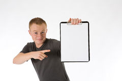 Clipboard 2 Stock Photography
