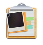 Clipboard royalty free illustration