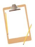 clipboard Royaltyfri Fotografi