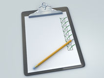 clipboard Arkivbilder