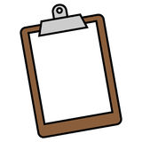 clipboard Immagini Stock Libere da Diritti