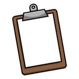 clipboard Fotografie Stock
