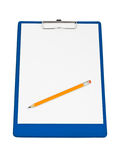 Clipboard And Pencil Royalty Free Stock Photography