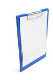 Clipboard with Blank Paper Royalty Free Stock Photography