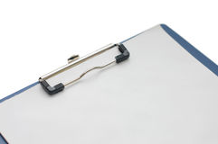 Clipboard with blank sheet Royalty Free Stock Photos