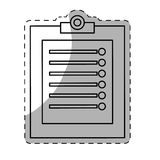 clipboard with checklist icon image Royalty Free Stock Photos